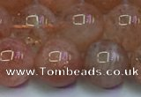 CSS716 15.5 inches 11mm round natural golden sunstone beads