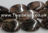 CST07 15.5 inches 18*25mm oval staurolite gemstone beads wholesale
