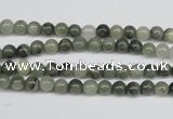 CSW01 15.5 inches 4mm round seaweed quartz beads wholesale