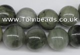 CSW06 15.5 inches 14mm round seaweed quartz beads wholesale