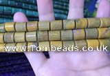 CTB258 15.5 inches 10*12mm tube natural ocean jasper beads