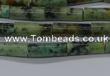 CTB344 15.5 inches 4*13mm tube African turquoise beads wholesale