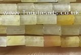 CTB812 15.5 inches 2*4mm tube yellow aventurine beads wholesale