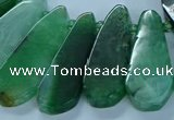 CTD2704 15.5 inches 10*25mm - 18*50mm freeform agate beads