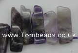 CTD351 Top drilled 10*28mm - 10*50mm wand dogtooth amethyst beads