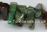 CTD605 Top drilled 10*18mm - 12*28mm nuggets agate gemstone beads
