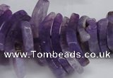 CTD720 Top drilled 12*25mm - 14*40mm wand agate gemstone beads
