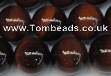 CTE1263 15.5 inches 12mm round AB grade red tiger eye beads