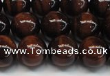 CTE1277 15.5 inches 8mm round A grade red tiger eye beads