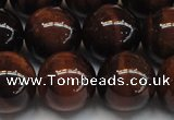 CTE1281 15.5 inches 16mm round A grade red tiger eye beads