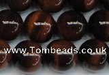 CTE1287 15.5 inches 12mm round A+ grade red tiger eye beads