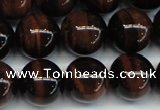 CTE1292 15.5 inches 6mm round AA grade red tiger eye beads