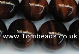 CTE1296 15.5 inches 14mm round AA grade red tiger eye beads