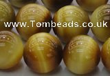 CTE1405 15.5 inches 14mm round golden tiger eye beads wholesale