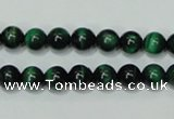 CTE141 15.5 inches 6mm round dyed tiger eye gemstone beads