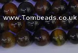 CTE1803 15.5 inches 10mm round blue iron tiger beads wholesale