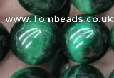 CTE2055 15.5 inches 14mm round green tiger eye beads wholesale