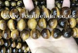 CTE2164 15.5 inches 18mm round yellow tiger eye gemstone beads