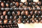 CTE2172 15.5 inches 12mm round red tiger eye beads wholesale