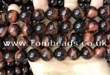 CTE2174 15.5 inches 16mm round red tiger eye beads wholesale