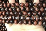 CTE2183 15.5 inches 10mm round yellow tiger eye gemstone beads