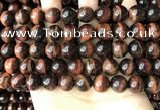 CTE2184 15.5 inches 12mm round red tiger eye gemstone beads