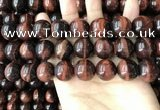 CTE2187 15.5 inches 18mm round red tiger eye gemstone beads