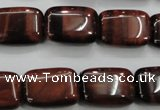 CTE56 15.5 inches 13*18mm rectangle red tiger eye gemstone beads