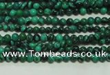 CTG102 15.5 inches 2mm round tiny synthetic malachite beads wholesale
