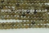 CTG103 15.5 inches 2mm round tiny labradorite gemstone beads wholesale