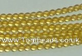 CTG146 15.5 inches 3mm round tiny citrine gemstone beads wholesale