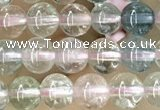 CTG1599 15.5 inches 4mm round morganite gemstone beads