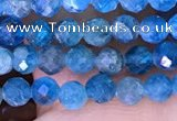 CTG1614 15.5 inches 3.5mm faceted round tiny apatite beads