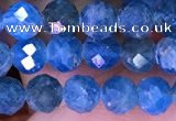 CTG1616 15.5 inches 5mm faceted round tiny apatite beads