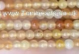 CTG2002 15 inches 2mm,3mm round red aventurine jade beads