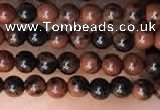 CTG2004 15 inches 2mm,3mm mahogany obsidian beads wholesale