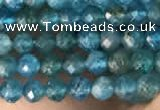 CTG2130 15 inches 2mm,3mm faceted round apatite gemstone beads