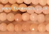 CTG2218 15 inches 2mm,3mm faceted round red aventurine jade beads