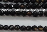 CTG428 15.5 inches 3mm faceted round tiny agate gemstone beads