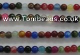 CTG437 15.5 inches 2mm round tiny dyed candy jade beads wholesale