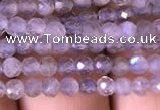 CTG702 15.5 inches 4mm faceted round tiny labradorite beads