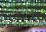 CTG747 15.5 inches 2mm faceted round tiny diopside beads