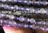 CTG750 15.5 inches 2mm faceted round tiny iolite beads wholesale