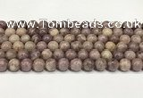 CTO721 15.5 inches 8mm round Chinese tourmaline beads