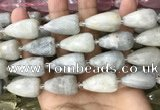 CTR356 15.5 inches 15*22mm faceted teardrop moonstone beads
