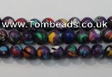 CTU2111 15.5 inches 6mm round synthetic turquoise beads