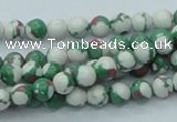 CTU223 16 inches 6mm round imitation turquoise beads wholesale