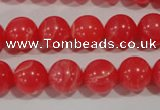 CTU2734 15.5 inches 12mm round synthetic turquoise beads