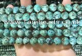 CTU573 15.5 inches 10mm round african turquoise beads wholesale