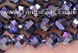 CTZ653 15.5 inches 4mm faceted round tiny terahertz beads
